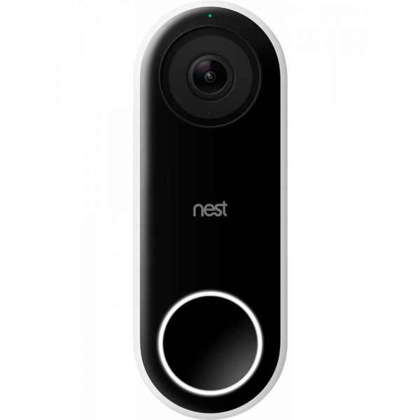 home-automation, blog - nest nc5100us google nest hello wi fi video doorbell nc5100us fb7 - Top 5 Innovative Smart Home Devices of 2019