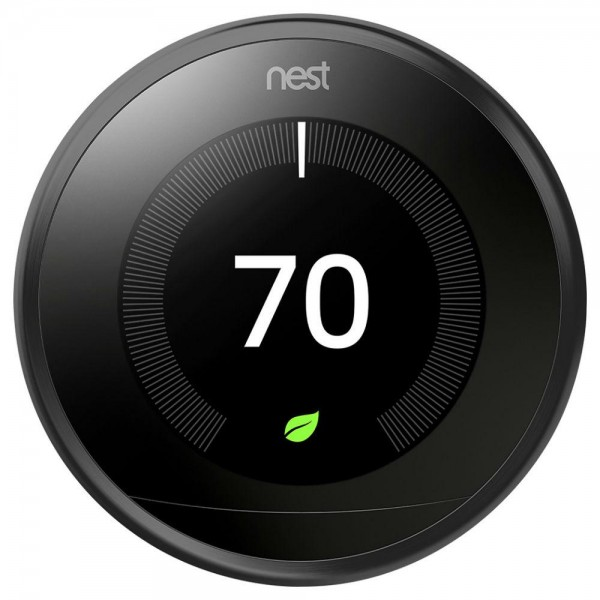 home-automation, blog - nest t3016us thermostat 3rd generation carbon black t3016us c7f - Top 5 Innovative Smart Home Devices of 2019