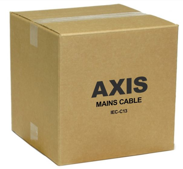 Axis 5800-201 Mains Cable 5800-201 by Axis