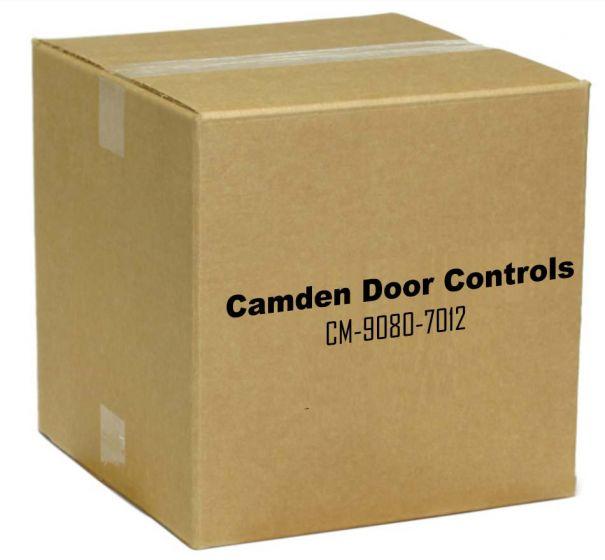 Camden Door Controls CM-9080-7012 DPDT Momentary, Red 12V LED Mounted on Faceplate CM-9080-7012 by Camden Door Controls