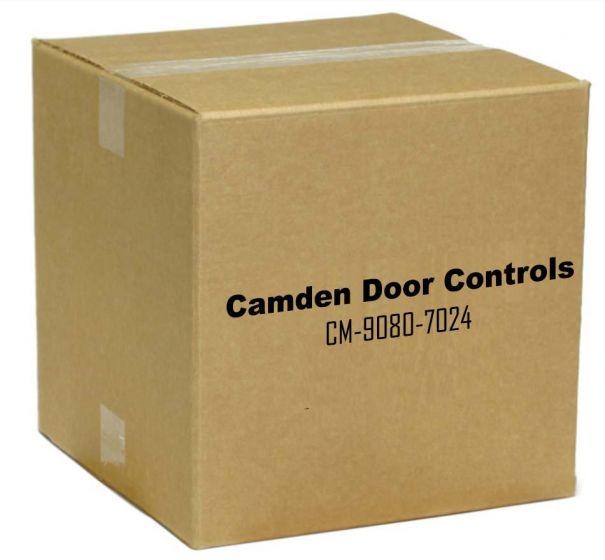 Camden Door Controls CM-9080-7024 DPDT Momentary, Red 24V LED Mounted on Faceplate CM-9080-7024 by Camden Door Controls