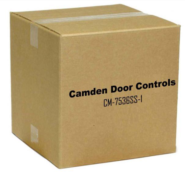 "Camden Door Controls CM-7536SS-1 Column 36"" Long Stainless Steel Column Switch No Graphics CM-7536SS-1 by Camden Door Controls"