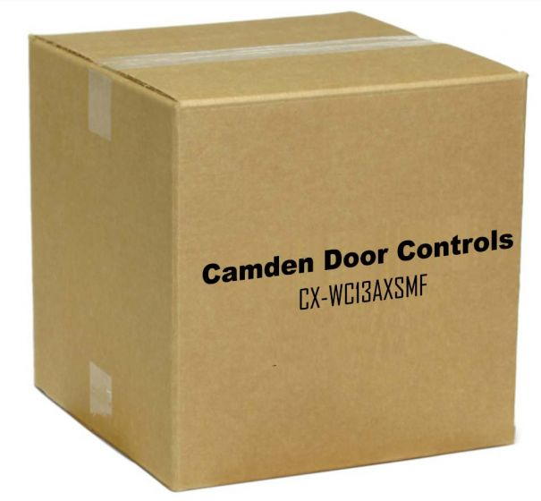Camden Door Controls CX-WC13AXSMF Restroom Control Kit with AURA Illuminated, Surface Mount with CM-2520, French CX-WC13AXSMF by Camden Door Controls