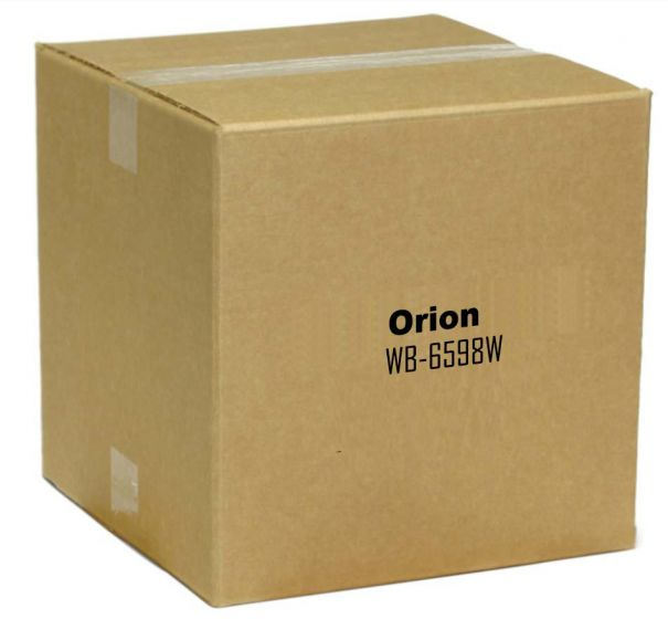 """Orion WB-6598W Robust Series Flat Wall Mount with Horizontal Adjustment for 70 to 90"""" Displays WB-6598W by Orion"""