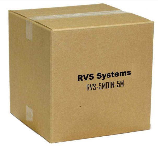 RVS Systems RVS-5MDIN-5M 5 Pin Male Din to 5 Pin Male RVS-5MDIN-5M by RVS Systems