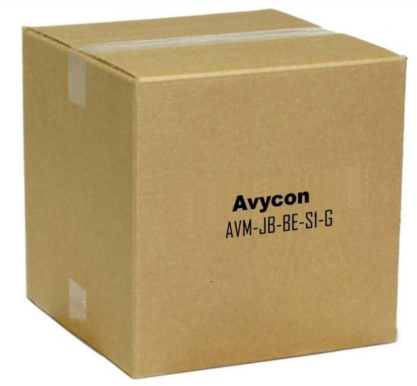 Avycon AVM-JB-BE-S1-G Junction Box for Fixed Lens Small Eyeball & Small Bullet Cameras AVM-JB-BE-S1-G by Avycon