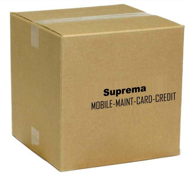 Suprema MOBILE-MAINT-CARD-CREDIT BioStar 2 Mobile Card Maintenance Credit (Regular) MOBILE-MAINT-CARD-CREDIT by Suprema