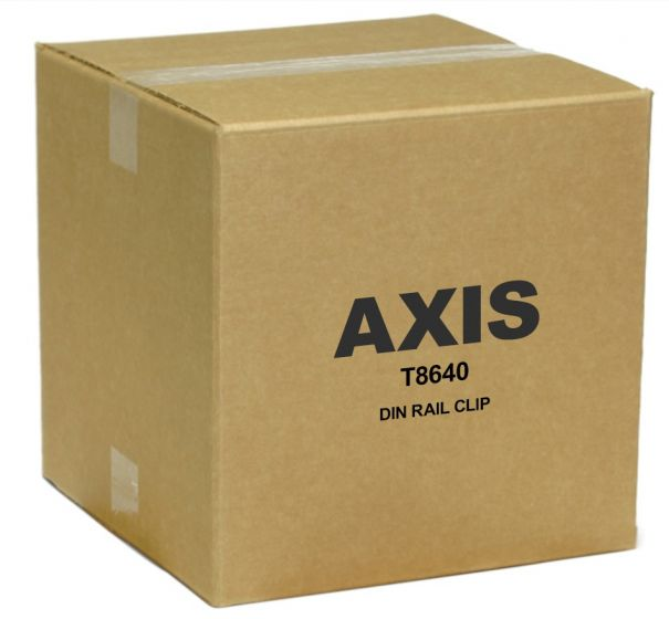 Axis 5026-431 T8640 Din Rail Clip 5026-431 by Axis