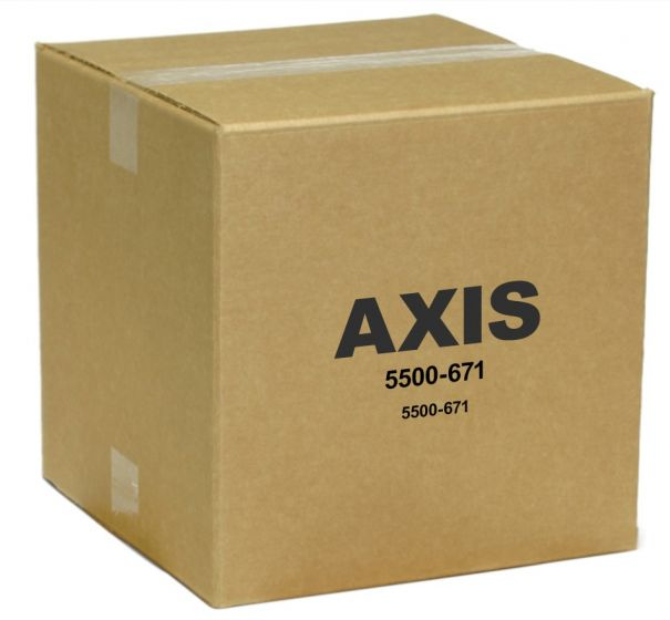 Axis 5500-671 Smoked and Clear Dome Kit for 215 PTZ 5500-671 by Axis