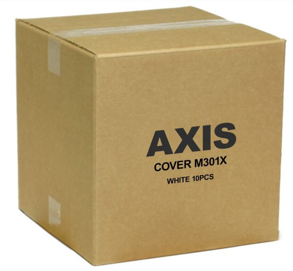 Axis 5502-171 White Cover with Clear Bubble for M30 Series 5502-171 by Axis