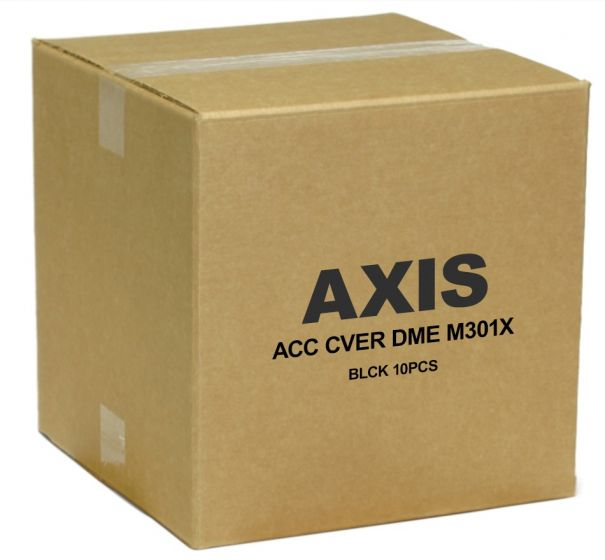 Axis 5502-181 Black Cover with Clear Bubble for M30 Series 5502-181 by Axis