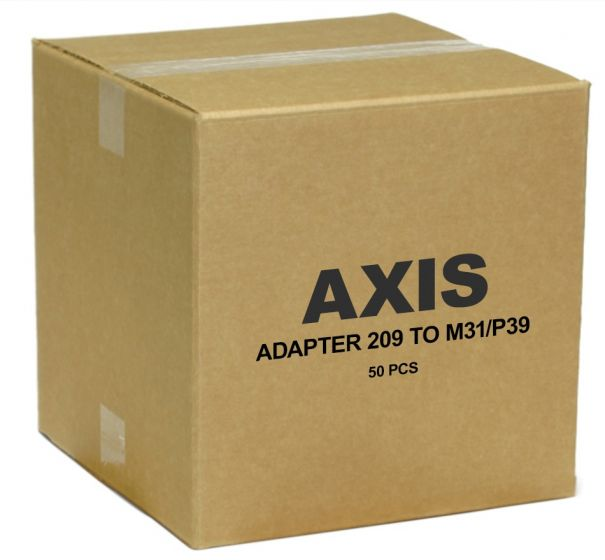 Axis 5503-192 Adapter 209 to M31 50 Pcs 5503-192 by Axis