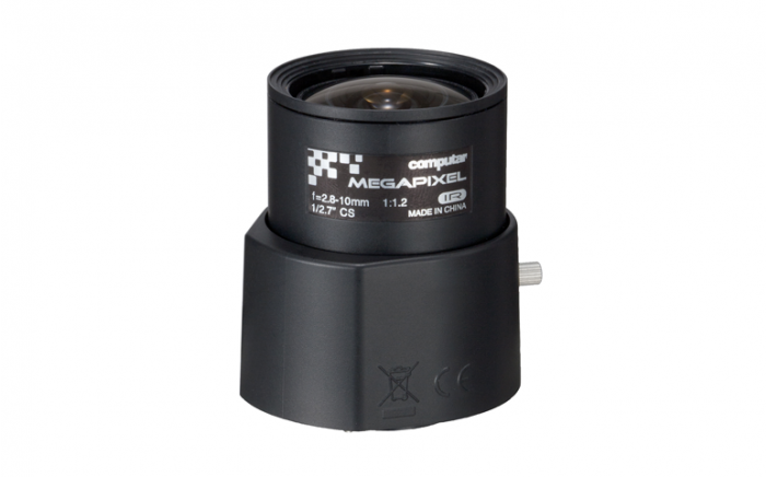 "Computar AG4Z2812FCS-MPIR 3 Megapixel, 1/2.7"" DC Auto-iris (CS Mount) Day/Night IR AG4Z2812FCS-MPIR by Computar"