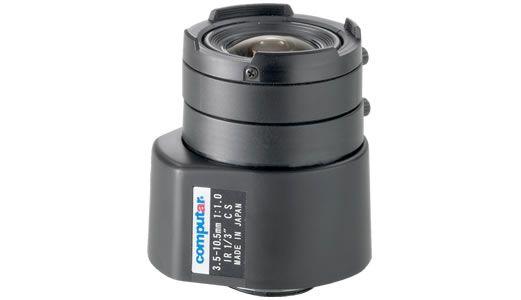 Computar TG3Z3510FCS-IR 1/3-inch 3.5-10.5mm F1.0 Auto Iris, Day/Night IR TG3Z3510FCS-IR by Computar