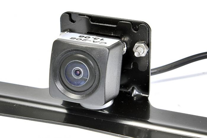 RVS Systems RVS-778-03 480 TVL License Plate Mounted Backup Camera, 16' Cable, RCA Adapter RVS-778-03 by RVS Systems