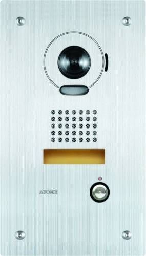 Aiphone IS-DVF Video Door Station, Flush Mount Stainless Steel IS-DVF by Aiphone