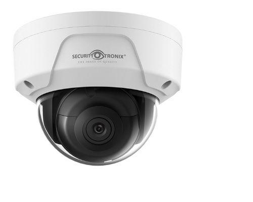 SecurityTronix ST-IP8FD 8 Megapixel IR Outdoor Dome Camera with 4mm Lens ST-IP8FD by SecurityTronix