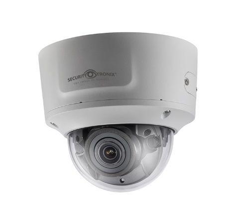 SecurityTronix ST-IP4VFD-MZ  4 Megapixel IR Outdoor Dome Camera, 2.8-12mm Lens ST-IP4VFD-MZ by SecurityTronix