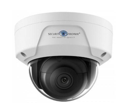 SecurityTronix ST-IP4FD 4 Megapixel IR Outdoor Dome Camera, 4mm Lens ST-IP4FD by SecurityTronix