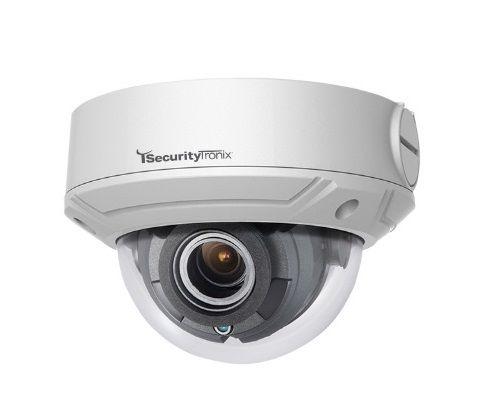 SecurityTronix ST-IP2VFD-MZ-LS 2 Megapixel IR Outdoor Dome Camera, 2.8-12mm Lens ST-IP2VFD-MZ-LS by SecurityTronix