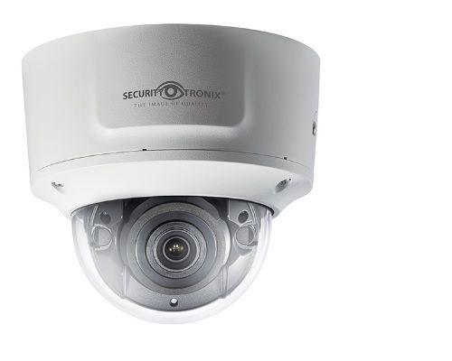 SecurityTronix ST-IP8VFD-MZ 8 Megapixel IR Outdoor Dome Camera with 2.8-12mm Lens ST-IP8VFD-MZ by SecurityTronix