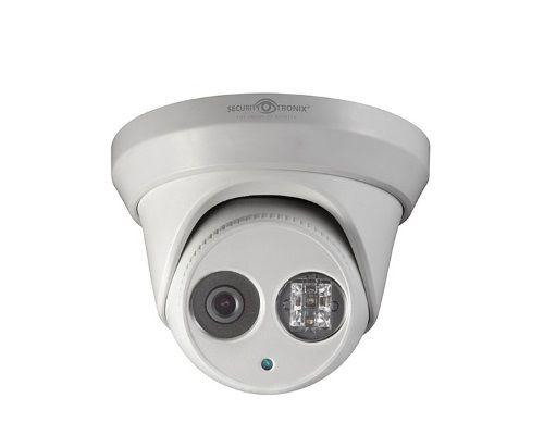 SecurityTronix ST-IP2FTD-2-8 2 Megapixel IR Outdoor Dome Camera, 2.8 mm Lens ST-IP2FTD-2-8 by SecurityTronix