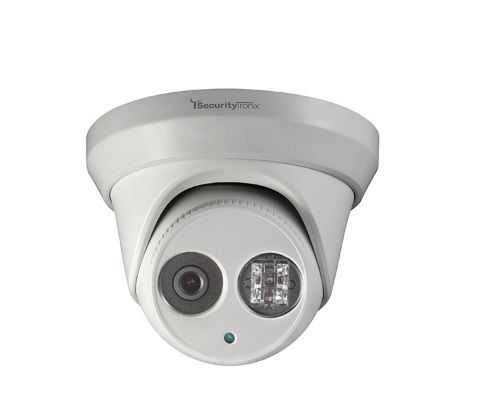 SecurityTronix ST-IP2FTD 2 Megapixel IR Outdoor Turret Dome Camera with 4mm Lens ST-IP2FTD by SecurityTronix