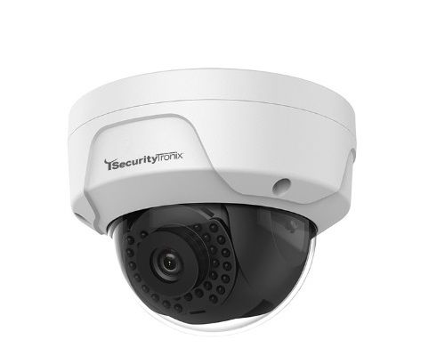 SecurityTronix ST-IP2FD-LS-4 2 Megapixel IR Outdoor Dome Camera with 4mm Lens ST-IP2FD-LS-4 by SecurityTronix