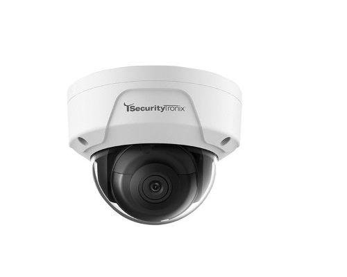 SecurityTronix ST-IP2FD-2-8 2 Megapixel IR Outdoor Dome Camera with 2.8mm Lens ST-IP2FD-2-8 by SecurityTronix