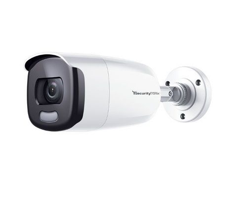 SecurityTronix ST-HDC2FB-CNV-B 2 Megapixel IR HD-TVI/AHD/CVI/Analog Bullet Camera with 3.6mm Lens, Black Housing ST-HDC2FB-CNV-B by SecurityTronix