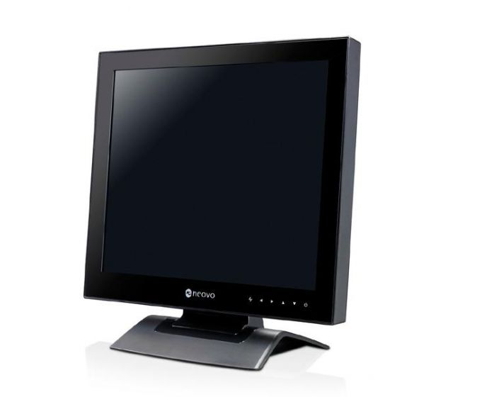 AG Neovo U-17 17-Inch Monitor w/Optical Glass, Speakers, VGA & DVI Input U-17 by AG Neovo