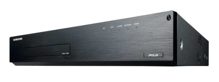 Samsung SRN-1000-18TB 64 Channel 5MP NVR with Mobile App Support, 18TB SRN-1000-18TB by Samsung