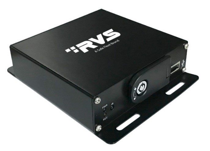 """RVS Systems RVS-2200-02 2 Channel AHD Mobile DVR, No HDD, 7"""" RCA Display RVS-2200-02 by RVS Systems"""