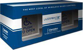 Camden Door Controls CM-RFL254-AL3 Lazerpoint Kit Includes CM-25/4, TX-9, RX-90, 23D and Batteries CM-RFL254-AL3 by Camden Door Controls