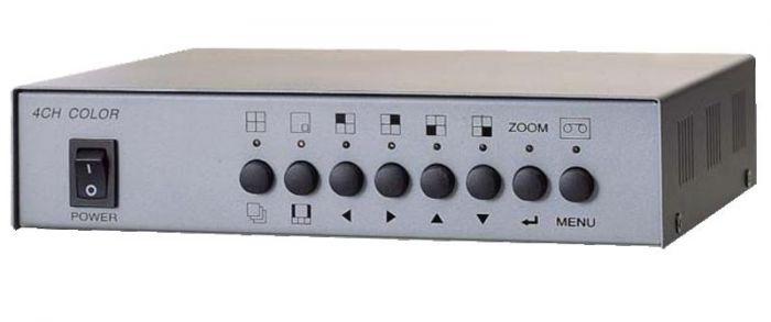 Weldex WDM-400C 4 Channel Color Real Time Simple Quad WDM-400C by Weldex