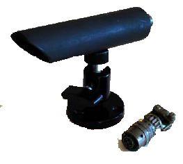 ETS SM1-WBM Weather Proof Bullet Omni-Directional Microphone SM1-WBM by ETS