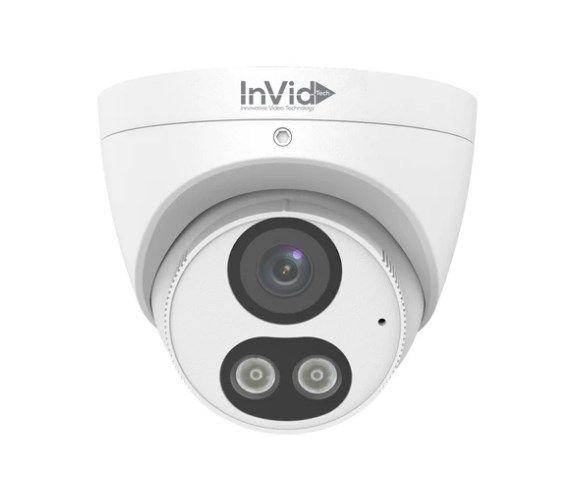 Invid VIS-P5TXIR28NH-AIWL 5 Megapixel IP Plug & Play Outdoor IR Turret Dome Camera with 2.8mm Lens VIS-P5TXIR28NH-AIWL by InVid