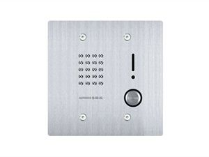 Aiphone IS-SS-2G 2-Gang Audio Door Station, Flush Mount, Stainless Steel IS-SS-2G by Aiphone
