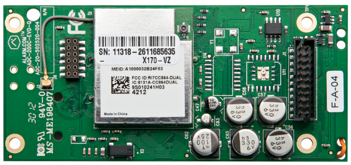 Interlogix 600-1048-XT-ZX-AT GSM Radio for Simon Xti with Z-Wave & Image Sensor Ready (AT&T) 600-1048-XT-ZX-AT by Interlogix