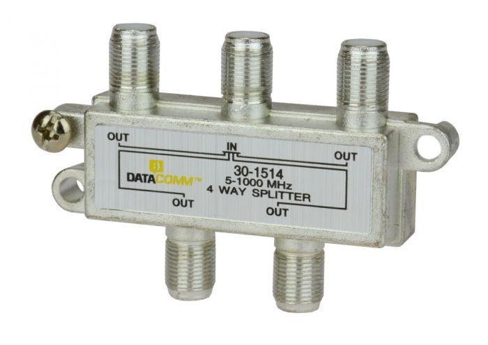 DataComm 30-1514 1.0 GHz Splitters, 4-way 30-1514 by DataComm