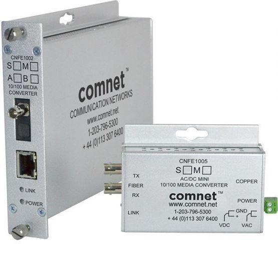 Comnet CNFE1004SAC1A-M 10/100 Mbps Ethernet 1310/1550nm Media Converter CNFE1004SAC1A-M by Comnet