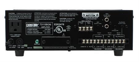 Aiphone T3130BGM 30 Watt Amplifier T3130BGM by Aiphone