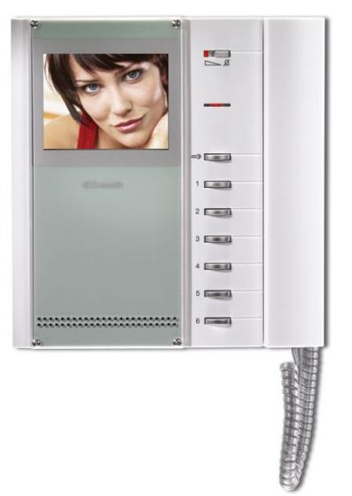 Comelit EX-5702 Bravokit Color Expansion Monitor, Includes Monitor and Bracket EX-5702 by Comelit