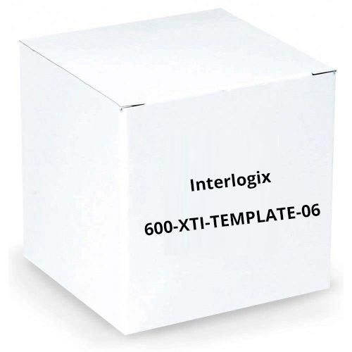 GE Security Interlogix 600-XTI-TEMPLATE-06 Black-Blue, Gradient, Replacement Template for Simon XTI 600-XTI-TEMPLATE-06 by Interlogix