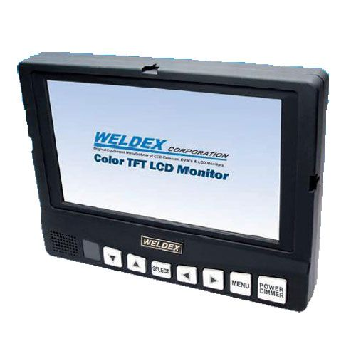 Weldex WDL-8001M 8-Inch TFT LCD Monitor with Integrated Audio WDL-8001M by Weldex