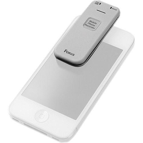 KJB D1305 Smartphone Voice Recorder, White D1305 by KJB