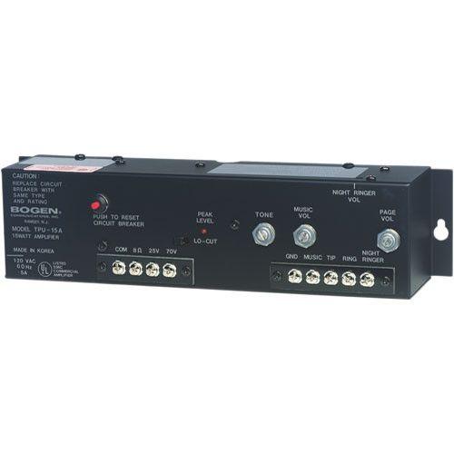 Bogen TPU15A Telephone Paging Amplifier, 15W TPU15A by Bogen