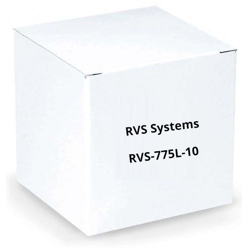 RVS Systems RVS-775L-10 120° 420 TVL White Left Side Camera, 66' Cable, RCA Adapter, 2.1mm Lens RVS-775L-10 by RVS Systems