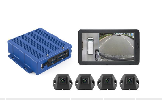 """RVS Systems RVS-01-360-03 Inview HD 360° Camera System With 10.1"""" HD Monitor RVS-01-360-03 by RVS Systems"""