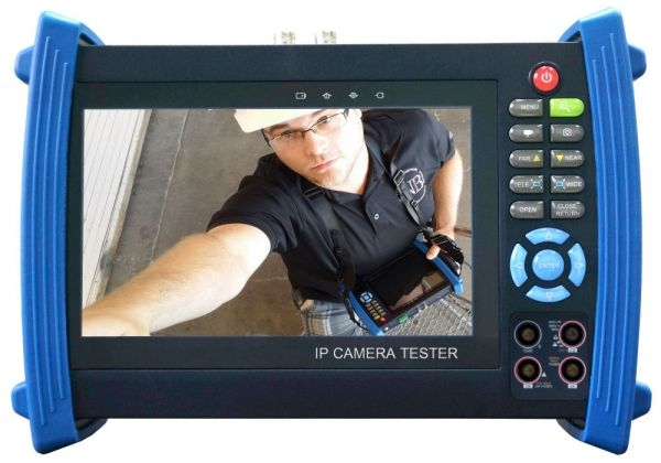SecurityTronix ST-SDI-TEST 7 inch HD-SDI, Analog & IP camera Tester with Multimeter ST-SDI-TEST by SecurityTronix